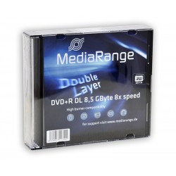 DVD+R DL MediaRange x5