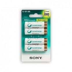 Baterías Recargables AAX4...